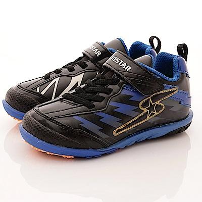 日本月星頂級童鞋 魔動爪競速款 SE876黑(中大童段)T2