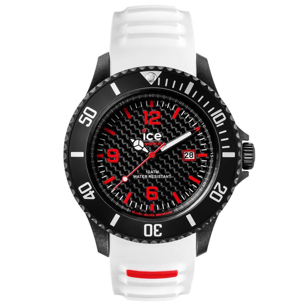 Ice-Watch 碳纖系列 冷冽都會手錶-白/48mm