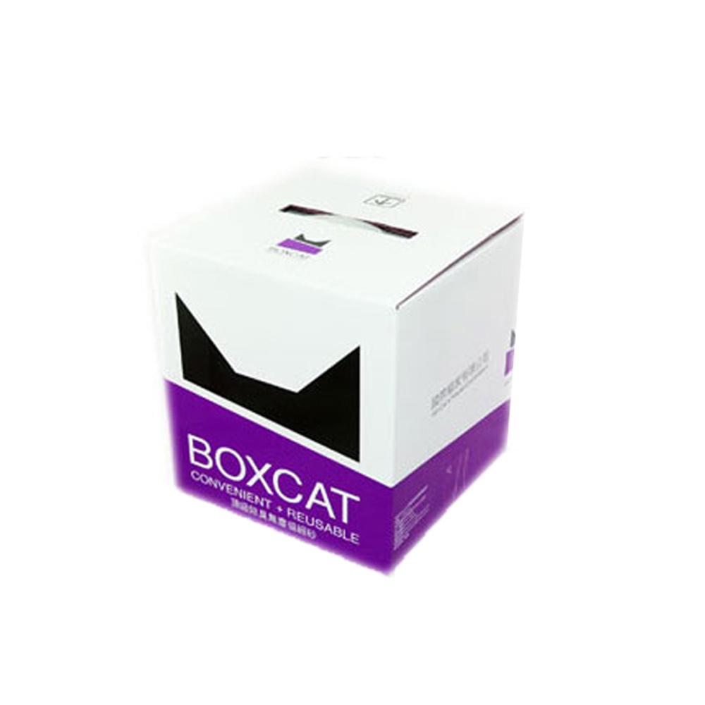 【國際貓家】BOXCAT紫標-威力除臭奈米銀粒子貓砂12L(10kg)