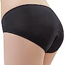 思薇爾 Tour-Dry系列M-XXL素面日用低腰生理褲(黑色)