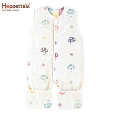 日本-Hoppetta-蘑菇六層紗成長型睡褲