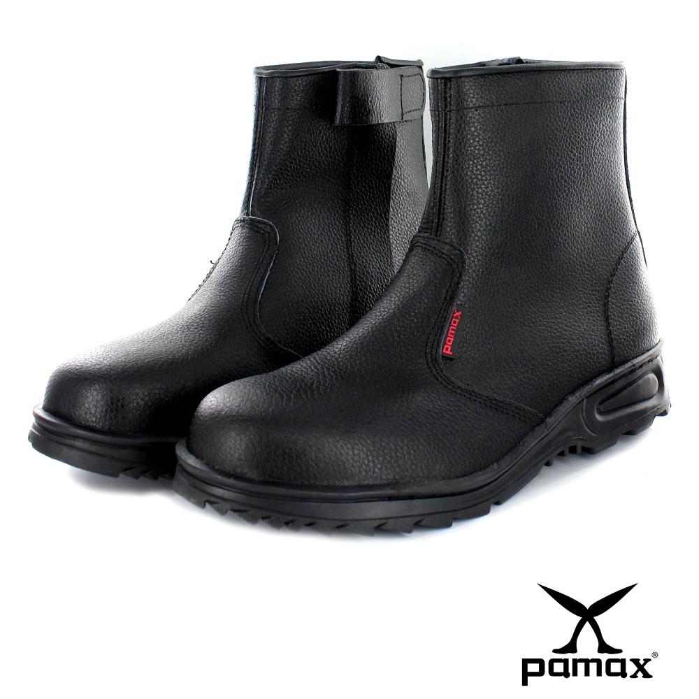 PAMAX【帕瑪斯高筒皮革製安全鞋】『男女』 鋼頭工作安全鞋