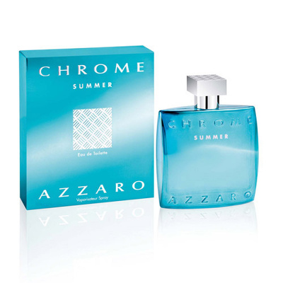 Azzaro Chrome Summer 活力鉻元素淡香水 50ml