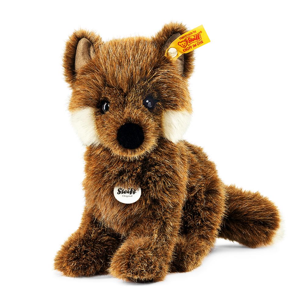STEIFF德國金耳釦泰迪熊- Fuxy Baby Fox (動物王國)