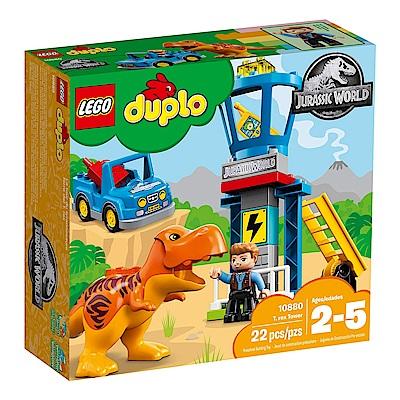 LEGO樂高 得寶系列 10880 侏儸紀世界 暴龍塔