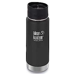 美國Klean Kanteen寬口保溫鋼瓶473ml-消光黑