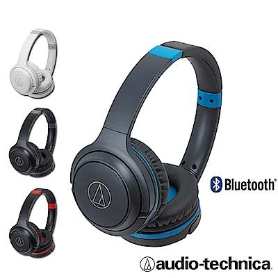 【鐵三角】ATH-S200BT超輕量無線藍芽耳罩式耳機
