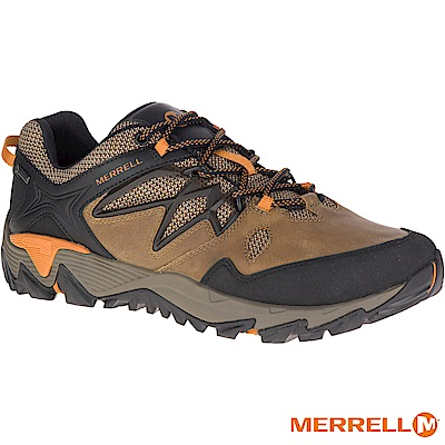 MERRELL ALLOUTBLAZE2 GTX 登山男鞋-橘(12105)