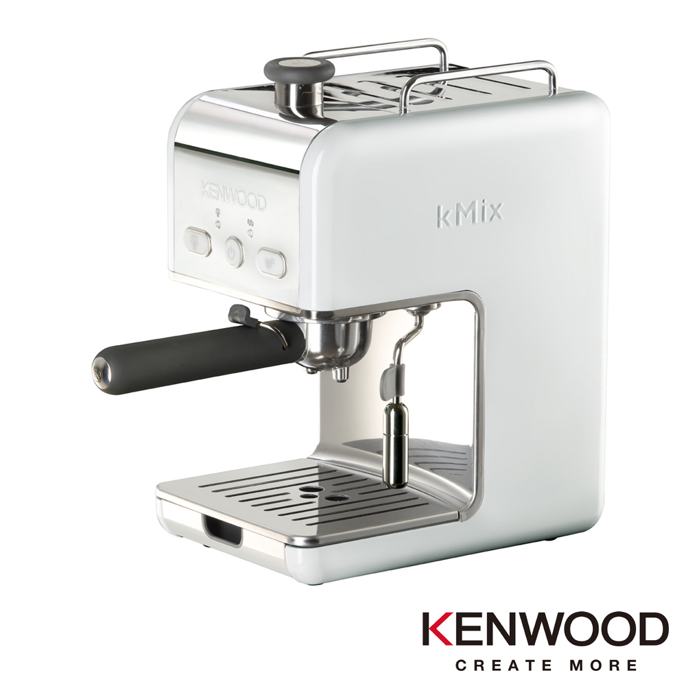 英國Kenwood kMix系列義式濃縮咖啡機  白色 ES020