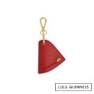 LULU GUINNESS RED LIP WRAP鑰匙圈