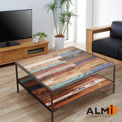 ALMI_2 LEVELS 咖啡桌W100*D100*H35CM
