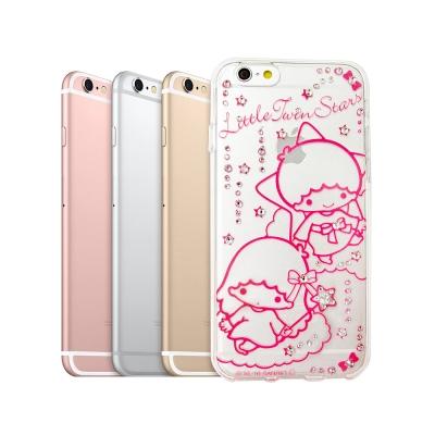 三麗鷗授權 KiKiLaLa雙子星 iPhone 6s 4.7吋 水鑽透明手機殼...