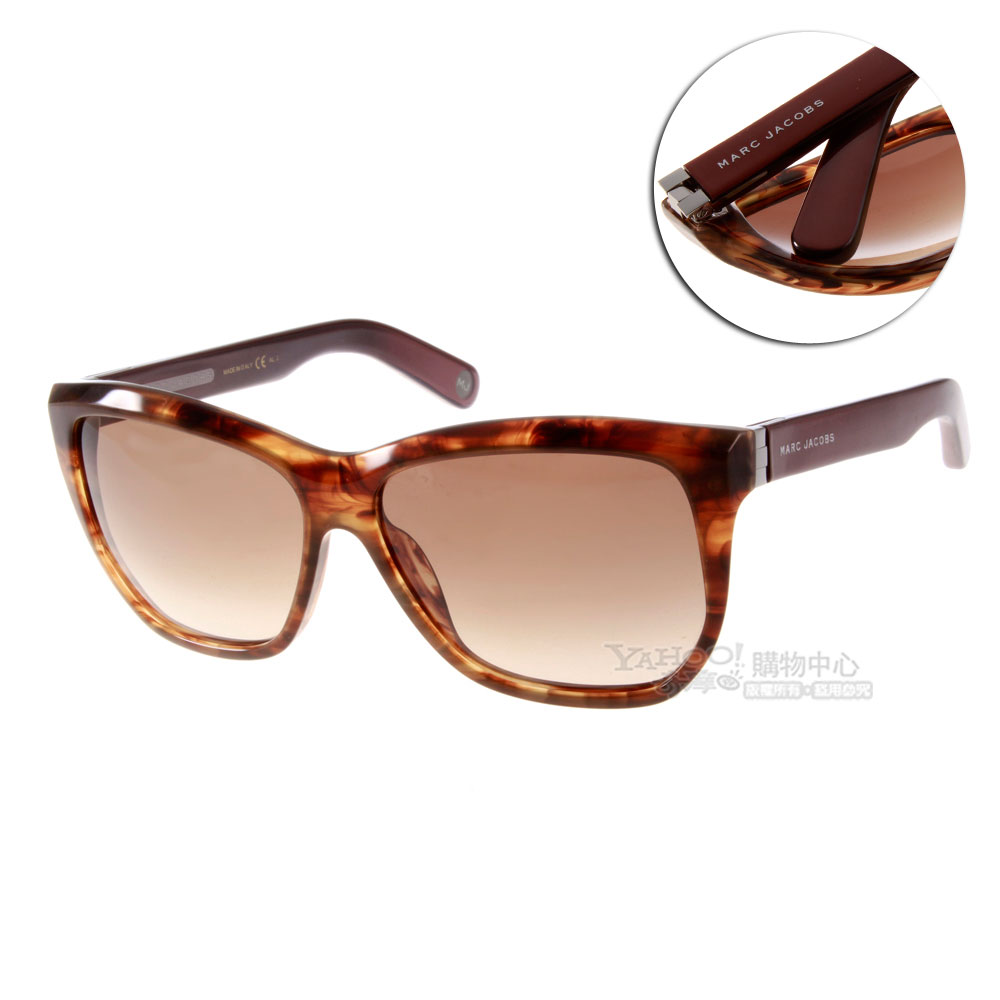MARC JACOBS太陽眼鏡 獨家貓眼設計款/琥珀棕#MJ464S BVPPN