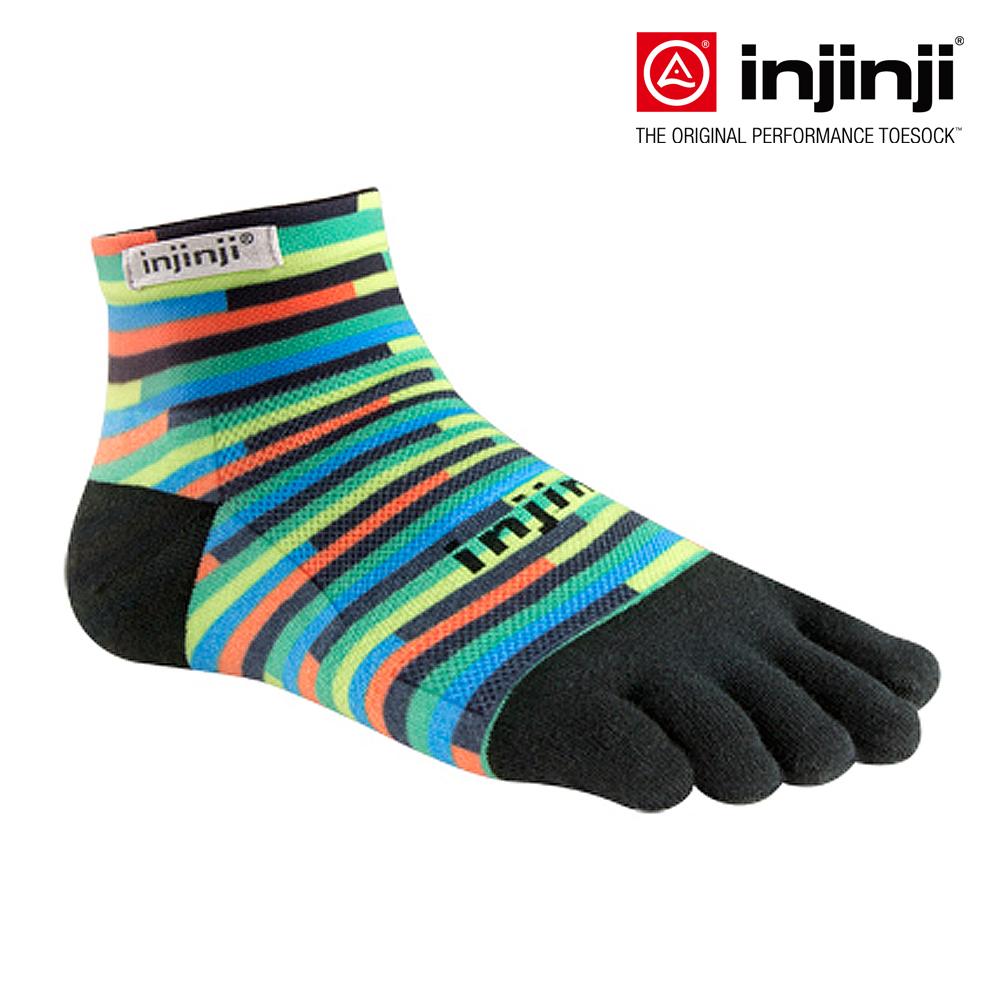 【injinji】RUN輕量吸排五趾短襪