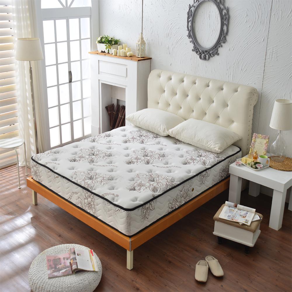 Ally愛麗飯店級高澎度舒柔涼感紗蜂巢式床墊 雙人加大6尺