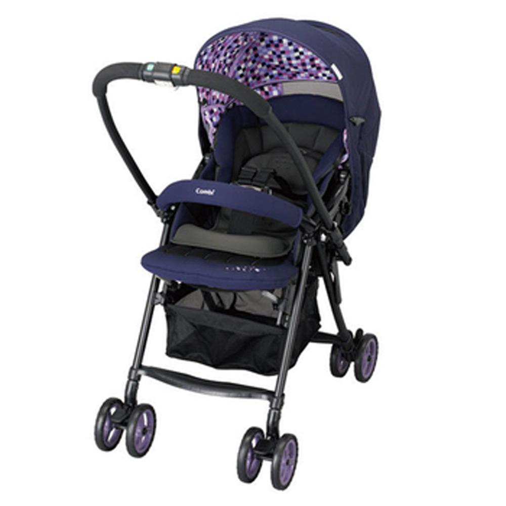 麗嬰房Combi雙向輕量豪華手推車Well comfort EG漾彩紫