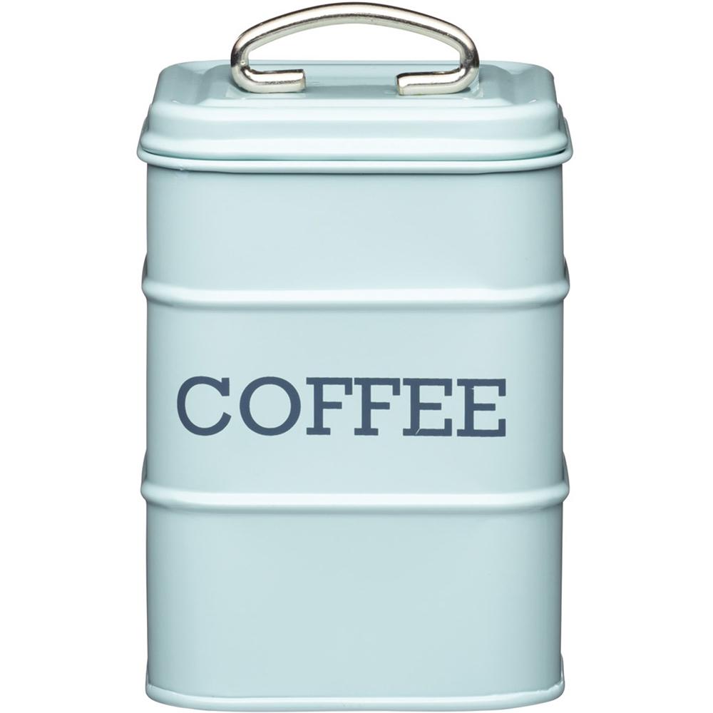 KitchenCraft 復古咖啡收納罐(藍)