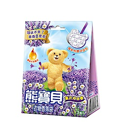 熊寶貝 衣物香氛袋-薰衣沁林(21g)
