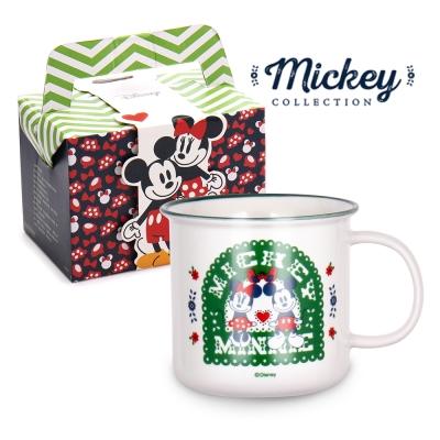 迪士尼Disney 鄉村系列仿搪瓷杯400ml/5款任選(8H)