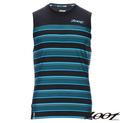 ZOOT 頂級極致型輕羽級吸排運動背心(男) Z1604027(城市藍)