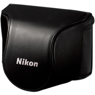 Nikon-原廠J1專用包覆相機套-黑色