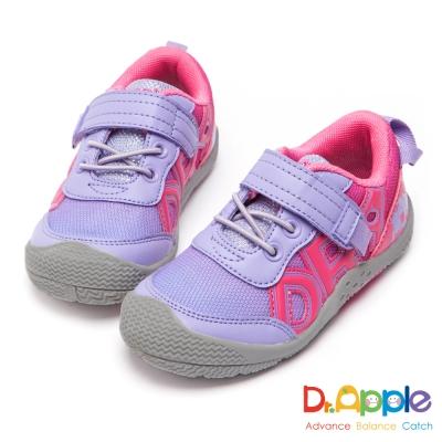 Dr. Apple 機能童鞋 雙色漸層透氣運動鞋-粉