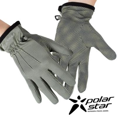 PolarStar 女抗UV排汗短手套『灰』P17518