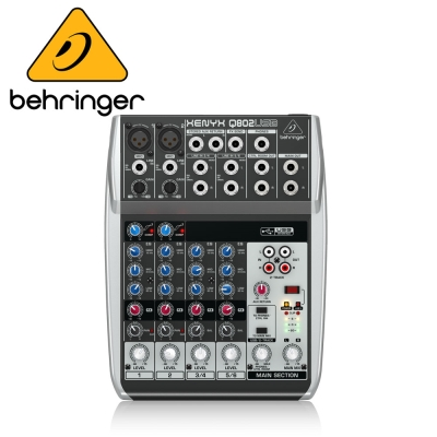 BEHRINGER Q802USB 混音器