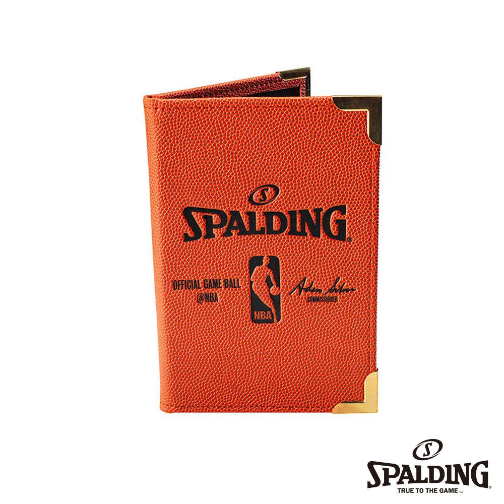 SPALDING 斯伯丁 籃球皮 插入式記事本(小) PORTFOLIO 筆記本
