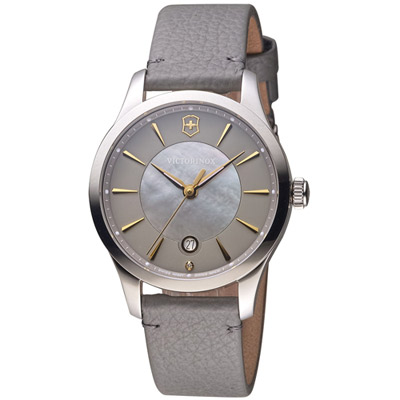 維氏 VICTORINOX ALLIANCE 腕錶系列 -灰/35mm