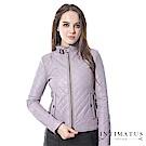 【真皮皮衣】菱格超柔軟頂級小羊皮皮衣-紫羅蘭色INTIMATUS