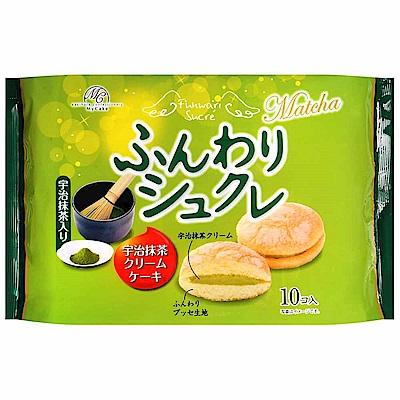 柿原 鬆軟抹茶奶油風味夾心蛋糕 (170g)