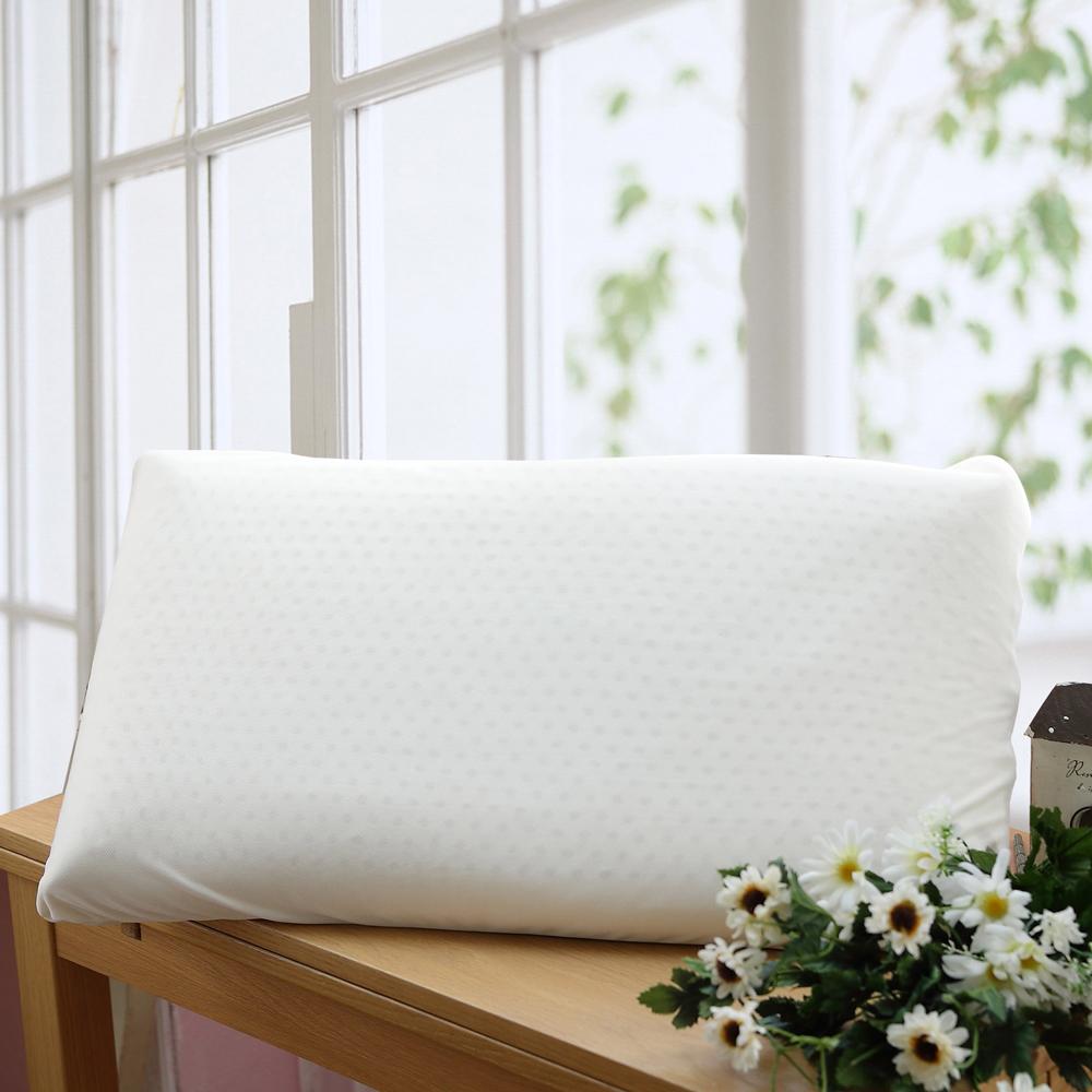 HOYACASA 平面天然乳膠枕-大