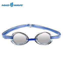 俄羅斯 邁俄威 成人競技型電鍍泳鏡 MADWAVE RACER SW MIRROR