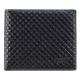 Valentino Rudy - 菱格荔紋牛皮短皮夾-黑(Z7837) product thumbnail 1