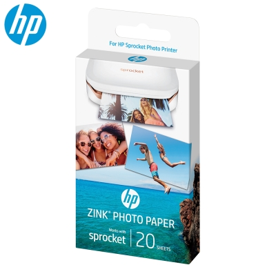 HP Sprocket -Zink 2x3吋 原廠相紙(20張)