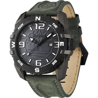 Timberland Brookline 美式立體品牌潮流腕錶-黑/47mm