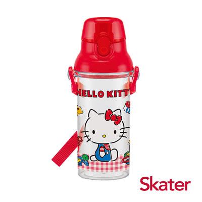 Skater直飲透明水壺 (480ml)KITTY