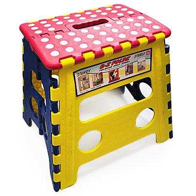 《居家生活》手提折合椅/折凳/折疊椅-32cm(中)-2入