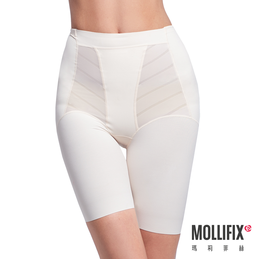 Mollifix 超自我 蜜腿SHAPE五分褲 膚
