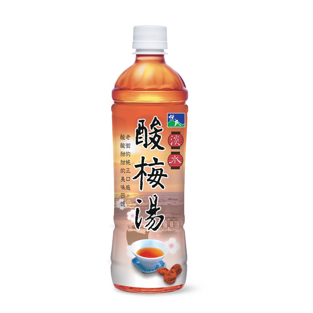 悅氏淡水酸梅湯550ml(4入組)