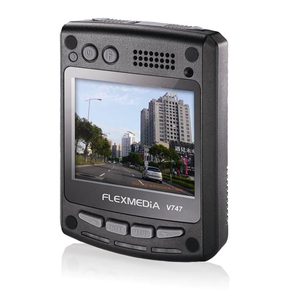 FLEXMEDiA V747 120度廣角1080P行車記錄器
