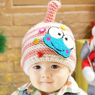 韓版-可愛青蛙保暖帽