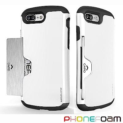 Phonefoam Golf iPhone 8 Plus插卡式立架吸震保護殼