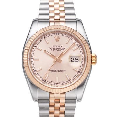 ROLEX勞力士 DateJust 116231 蠔式恆動玫瑰金日誌型錶/36mm