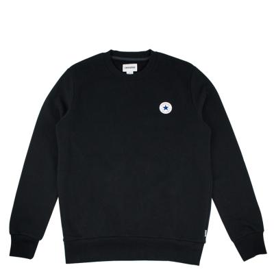 CONVERSE- 男休閒長袖上衣10004629A04-黑