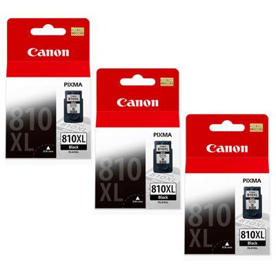 CANON PG-810XL  原廠高容量黑色(3顆入)