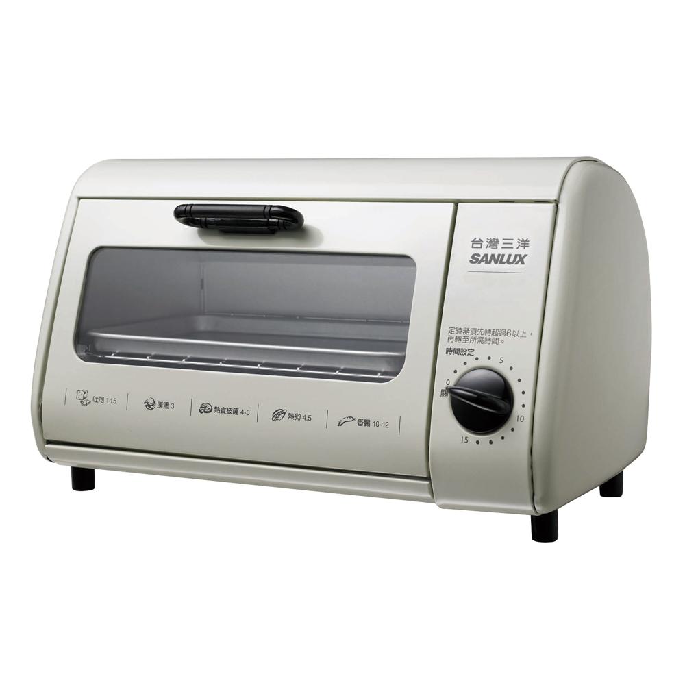 SANLUX台灣三洋8公升電烤箱 SK-08A