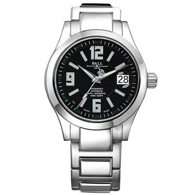 BALL波爾 Engineer II系列 Arabic自動機械腕錶 -銀色/40mm