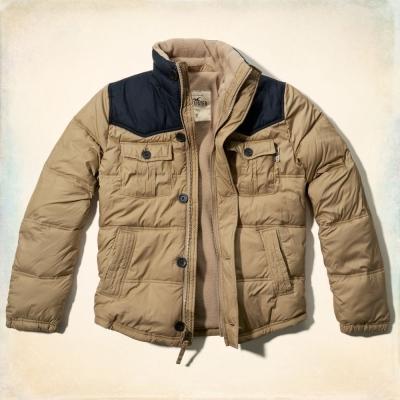 Hollister HCO 長袖 外套 卡其色 0274